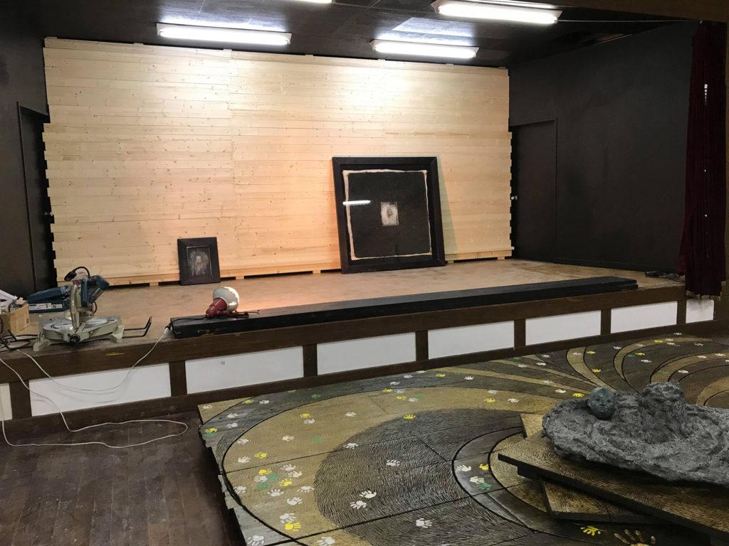 at gallery-new wall